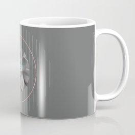 Nature Meets Geometry Circles Coffee Mug