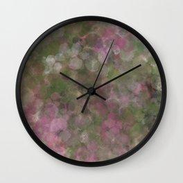Rosen garden batic look Wall Clock
