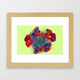 The Flower I Love Framed Art Print