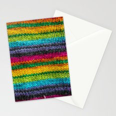 Rainbow In Wool Stationery Cards