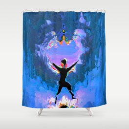 Make Way!  For The Positive Day! Shower Curtain