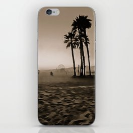Santa Monica Beach - Art iPhone Skin