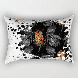 Australian Native Floral Graphic Print Rectangular Pillow
