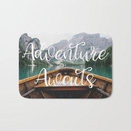 Live the Adventure - Adventure Awaits Bath Mat