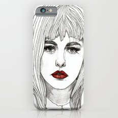 Patsy with Red Lips iPhone 6s Slim Case