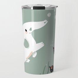 Ocean Elephant Travel Mug