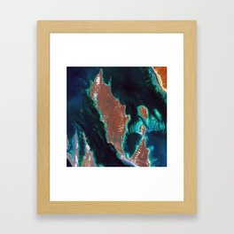 Shark Bay - Western Australia Framed Art Print