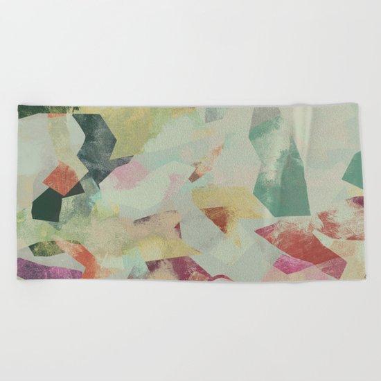 Camouflage V Beach Towel
