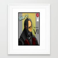 doom Framed Art Prints featuring Doom by Xenn