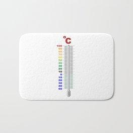 A Temperature Thermometer Bath Mat