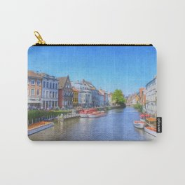 The Canals Of Ghent, Belgium Carry-All Pouch