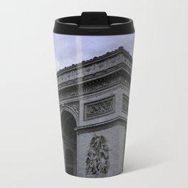 The Arc de Triomphe de l'Etoile Metal Travel Mug