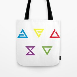 Witcher Signs Tote Bag