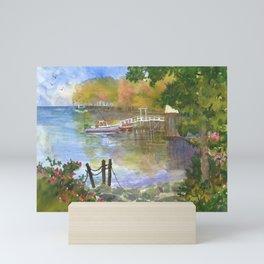 Back Cove New Harbor Maine Mini Art Print