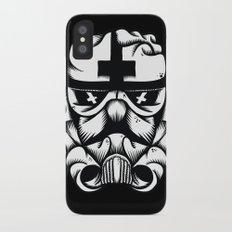 Satanic Trooper iPhone X Slim Case