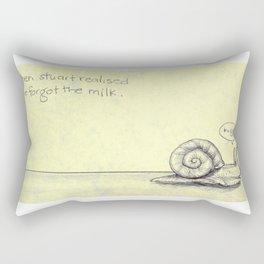 Snail Milk Rectangular Pillow