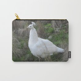 Albino peahen Carry-All Pouch