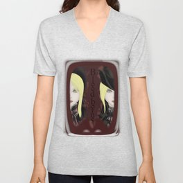 Bloodborne - The Doll and the Lady Unisex V-Neck