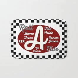 Roll Tide! Bath Mat