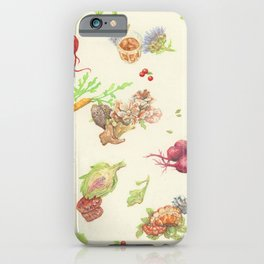 Fall Food iPhone Case