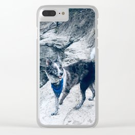 Steppin' Clear iPhone Case