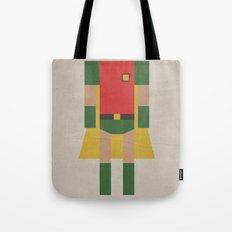 Retro Robin Tote Bag