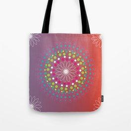 Dot Mandala Tote Bag
