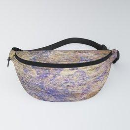 Purple Gold Fanny Pack