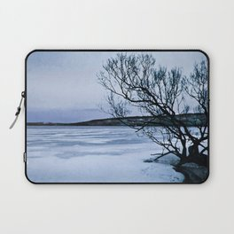 Frozen Lake Laptop Sleeve