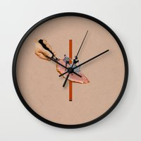 dancing Wall Clocks featuring Dancing by Lerson