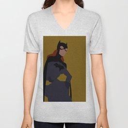 Batgirl Minimalism Unisex V-Neck
