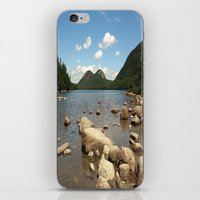 maine iPhone & iPod Skins featuring Maine by Raymond Earley