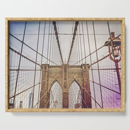 Brooklyn Bridge Serving Tray