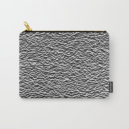 Dark Side of the Moon Silver Crater Abstract Carry-All Pouch
