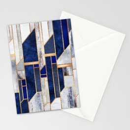 Blue Winter Sky Stationery Cards