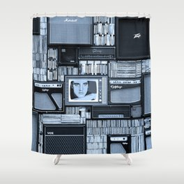 KING OF ROCK III Shower Curtain