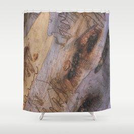 Tree Bark Abstract # 28 Shower Curtain