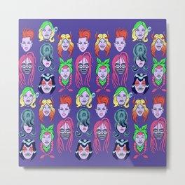 Goth Girls Metal Print