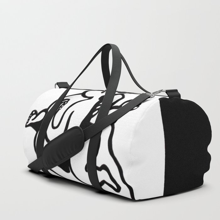 Madonna & Child Duffle Bag