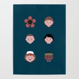 Stranger Icons Poster