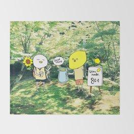 lamonade Throw Blanket