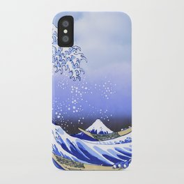 Surf's Up! The Great Wave iPhone Case