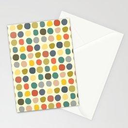 baby ikat spots cream Stationery Cards