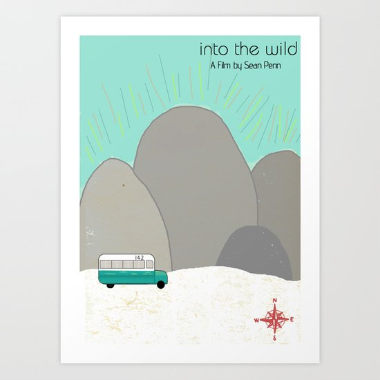 "Sean Penn's ""Into the Wild"" Art Print"