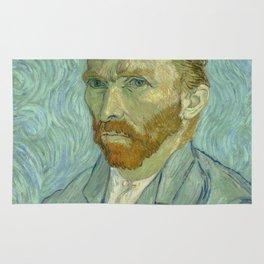"Vincent van Gogh ""Self-portrait"" (1) Rug"