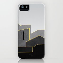 Abstract Architecture 02 iPhone Case
