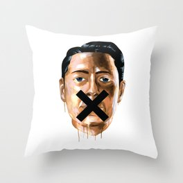 Sorry We're Closed Throw Pillow