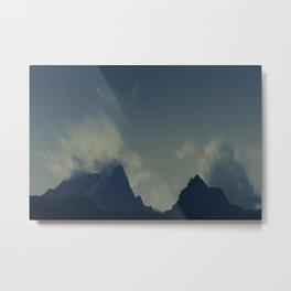 Himalayas at night Metal Print