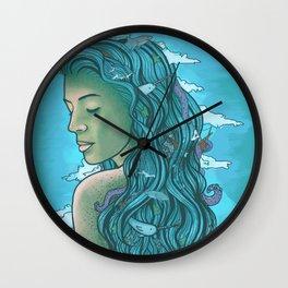 Siren of the Seas Wall Clock