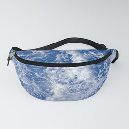 Navy Waves Summer Beach Fanny Pack